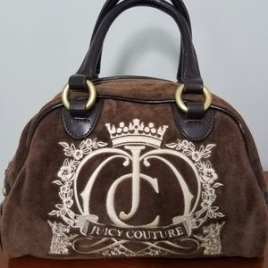 Juicy Couture Espresso Brown Bag